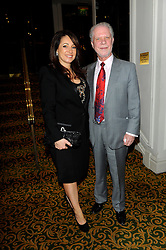 Jaqueline Gold & David Gold during the TiE UK Awards 2013 at The Grosvenor House Hotel, London, England, UK, March 18, 2013.  Photo by Chris Joseph / i-Images...