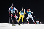 PYEONGCHANG-GUN, SOUTH KOREA - FEBRUARY 12: Jesper Nelin of Sweden during the Mens Biathlon 12.5km Pursuit at Alpensia Biathlon Centre on February 12, 2018 in Pyeongchang-gun, South Korea. Photo by Nils Petter Nilsson/Ombrello               ***BETALBILD***