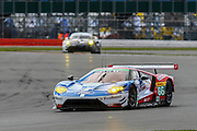 66 LMGTE Pro Ford Chip Ganassi Team UK / Ford GT / William Johnson / Stefan Mucke / Oliver Pla during the FIA World Endurance Championships at Silverstone, Towcester, United Kingdom on 17 April 2016. Photo by Craig McAllister.