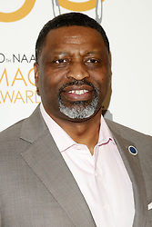 March 9, 2019 - Los Angeles, CA, USA - LOS ANGELES - MAR 9:  Derrick Johnson at the 50th NAACP Image Awards Nominees Luncheon at the Loews Hollywood Hotel on March 9, 2019 in Los Angeles, CA (Credit Image: © Kay Blake/ZUMA Wire)