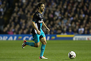 Arsenal midfielder Mathieu Flamini on the ball during the Capital One Cup Fourth Round match between Sheffield Wednesday and Arsenal at Hillsborough, Sheffield, England on 27 October 2015. Photo by Aaron Lupton.