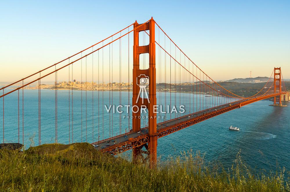 Golden Gate Bridge in San Francisco, CA.