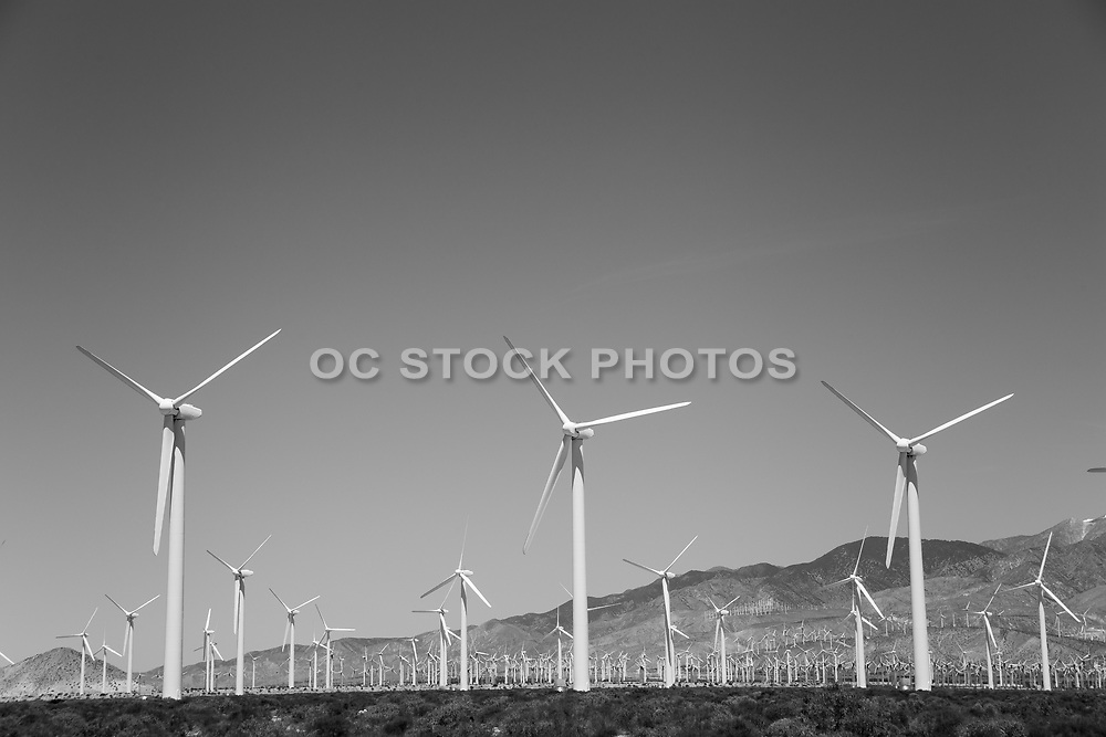 Palm Springs Iconic Wind Turbines