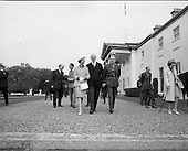1968 - 14/05 Belgian Royals at TCD