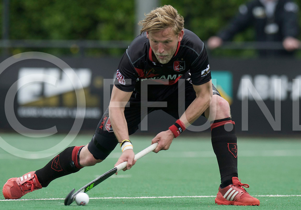 BLOEMENDAAL - Euro Hockey League final four.HC Bloemendaal - Amsterdamsche H&BC.Foto:  Drag Flick Robert Tigges..FFU PRESS AGENCY COPYRIGHT FRANK UIJLENBROEK.