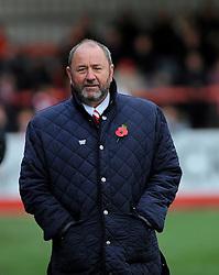 Cheltenham Town manager Gary Johnson - Mandatory by-line: Nizaam Jones/JMP - 05/11/2016 - FOOTBALL - LCI Rail Stadium - Cheltenham, England - Cheltenham Town v Crewe Alexandra - Emirates FA Cup first round