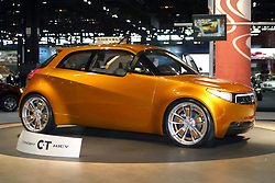 09 February 2006:  Mitsubishi CT Miev Concept Vehicle.....Chicago Automobile Trade Association, Chicago Auto Show, McCormick Place, Chicago IL
