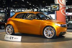 09 February 2006:  Mitsubishi CT Miev Concept Vehicle.....Chicago Automobile Trade Association, Chicago Auto Show, McCormick Place, Chicago IL