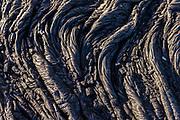 Pahoehoe lava Kalapana, Big Island, Hawaii