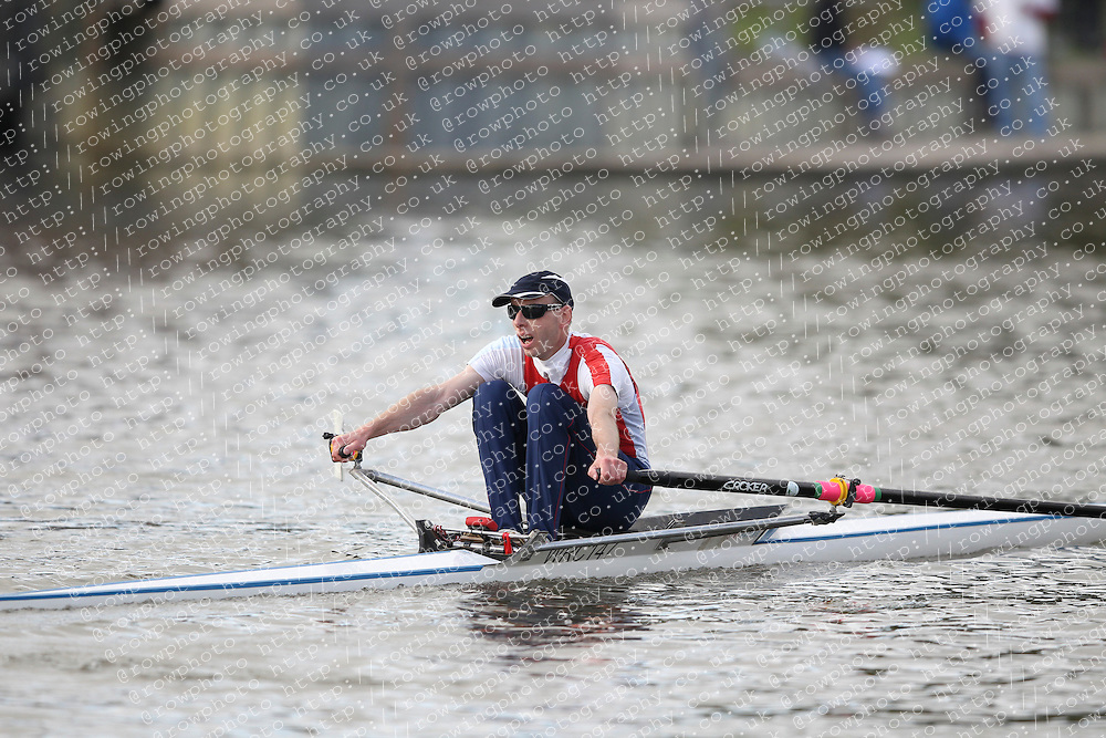 2012.09.29 Wallingford Long Distance Sculls 2012. Division 3. MasB 1x. Category Winner. Wallingford Rowing Club.