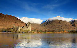 Kilchurn Castle, Loch Awe at sunrise on cold crisp winters morning.. (c) Stephen Lawson | Edinburgh Elite media
