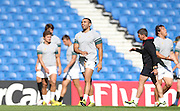 Bryan Habana in action during the South Africa Captain's Run training session in preparation for the Rugby World Cup at the American Express Community Stadium, Brighton and Hove, England on 18 September 2015.