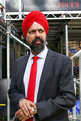 © Licensed to London News Pictures. 04/009/2019. London, UK. TANMANJEET SINGH DHESI MP for Slough  in College Green. On Monday 3 Sept 2019, MP's voted by 328 -301 with a majority of 27 to take control of the House of Commons agenda for Tuesday 4 Sept 2019. . Photo credit: Dinendra Haria/LNP