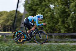 LAMPAERT Yves from BELGIUM during Men Elite Time Trial at 2019 UEC European Road Championships, Alkmaar, The Netherlands, 8 August 2019. <br /> <br /> Photo by Pim Nijland / PelotonPhotos.com<br /> <br /> All photos usage must carry mandatory copyright credit (Peloton Photos | Pim Nijland)