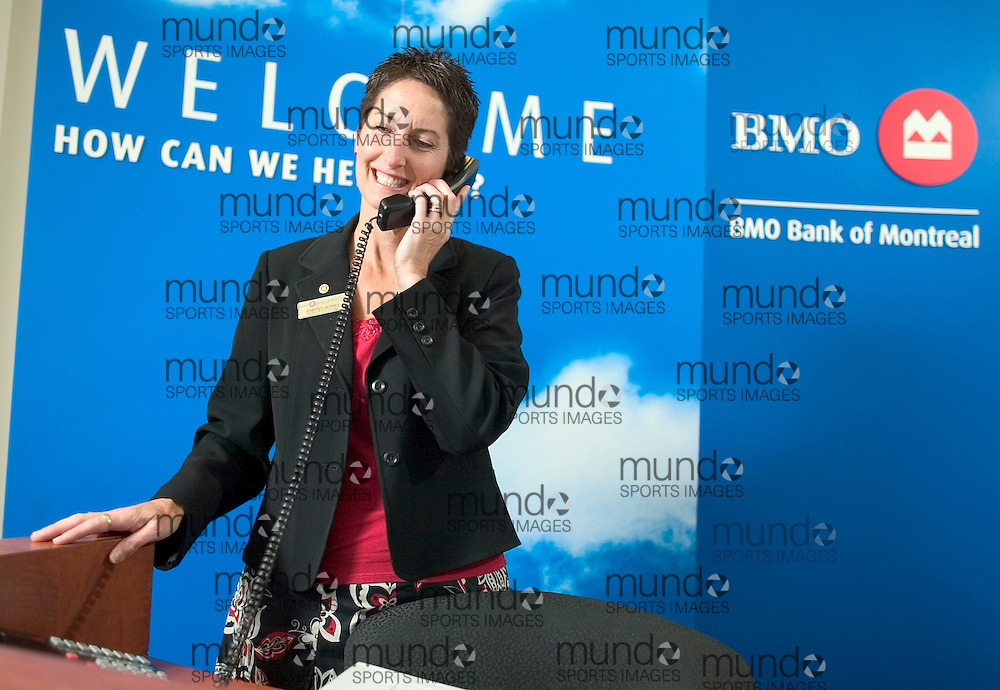 London, Ontario ---25/06/07--- BMO branch opening in London, Ontario..Photo by GEOFF ROBINS /CNW.