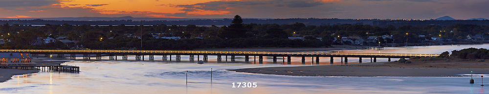 Barwon Heads at suniset