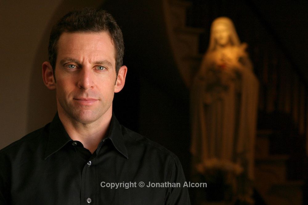 "Writer Sam Harris, author of the book ""The End of Faith:Religion, Terror, and the Future of Reason."" He writes about the link between religious faith and violence."