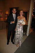 Harry Hampson and Rachel Hampson, Gala champagne reception and dinner in aid of CLIC Sargent.  Grosvenor House Art and Antiques Fair.  Grosvenor House. Park Lane. London. 14 June 2006. ONE TIME USE ONLY - DO NOT ARCHIVE  © Copyright Photograph by Dafydd Jones 66 Stockwell Park Rd. London SW9 0DA Tel 020 7733 0108 www.dafjones.com