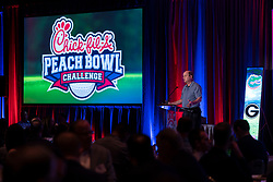 General images from the 2019 Chick-fil-A Peach Bowl Challenge dinner on Monday, April 29, 2019, in Greensboro, GA. (Paul Abell via Abell Images for Chick-fil-A Peach Bowl Challenge)