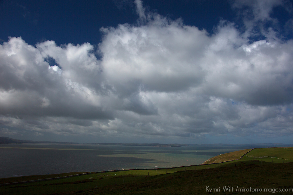 Europe, United Kingdom, Wales, Conwy. View from the Great Orme.