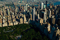 Aerial view of Central Park New York, New York