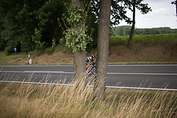 Sophie de Boer (NED) of Parkhotel Valkenburg - Destil Cycling Team rides on Stage 4 of the Lotto Thuringen Ladies Tour - a 18.7 km individual time trial, starting and finishing in Schmolln on July 16, 2017, in Thuringen, Germany. (Photo by Balint Hamvas/Velofocus.com)