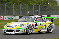 2009 Porsche Carrera Cup Great Britain.  Donington Park, Derby, United Kingdom. 16th-17th May 2009.  .(10) - Michael Leonard - Team Parker Racing#.World Copyright: Peter Taylor/PSP