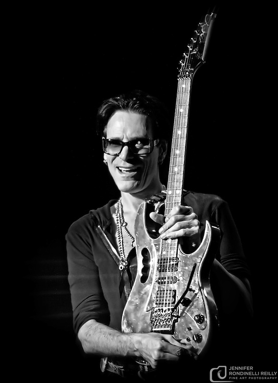 Legendary guitarist Steve Vai live at The Pabst Theater in Milwaukee, WI on 9/27/12. Photo © Jennifer Rondinelli Reilly.  All Rights Reserved. No use without permission. Contact me for any reuse or licensing inquiries.