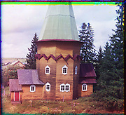 What Russian Empire Looked Like Before 1917… In Colour<br /> <br /> <br /> The Sergei Mikhailovich Prokudin-Gorskii Collection features colour photographic surveys of the vast Russian Empire made between ca. 1905 and 1915. Frequent subjects among the 2,607 distinct images include people, religious architecture, historic sites, industry and agriculture, public works construction, scenes along water and railway transportation routes, and views of villages and cities. An active photographer and scientist, Prokudin-Gorskii (1863-1944) undertook most of his ambitious colour documentary project from 1909 to 1915. <br /> <br /> Photo Shows; Wooden Church of the Transfiguration of Our Lord. The village of Pidma. [Russian Empire] (1909)<br /> ©Library of Congress/Prokudin-Gorskii/Exclusivepix Media