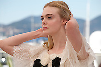 Actress Elle Fanningat the The Neon Demon film photo call at the 69th Cannes Film Festival Friday 20th May 2016, Cannes, France. Photography: Doreen Kennedy