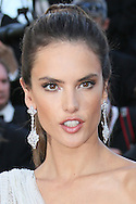 "CANNES, FRANCE - MAY 20:  Alessandra Ambrosio attends the ""Two Days, One Night"" premiere at the 67th Annual Cannes Film Festival on May 20, 2014 in Cannes, France.  (Photo by Tony Barson/FilmMagic)"