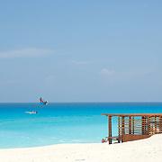 Beach detail. Cancun, Quintana Roo. Mexico.