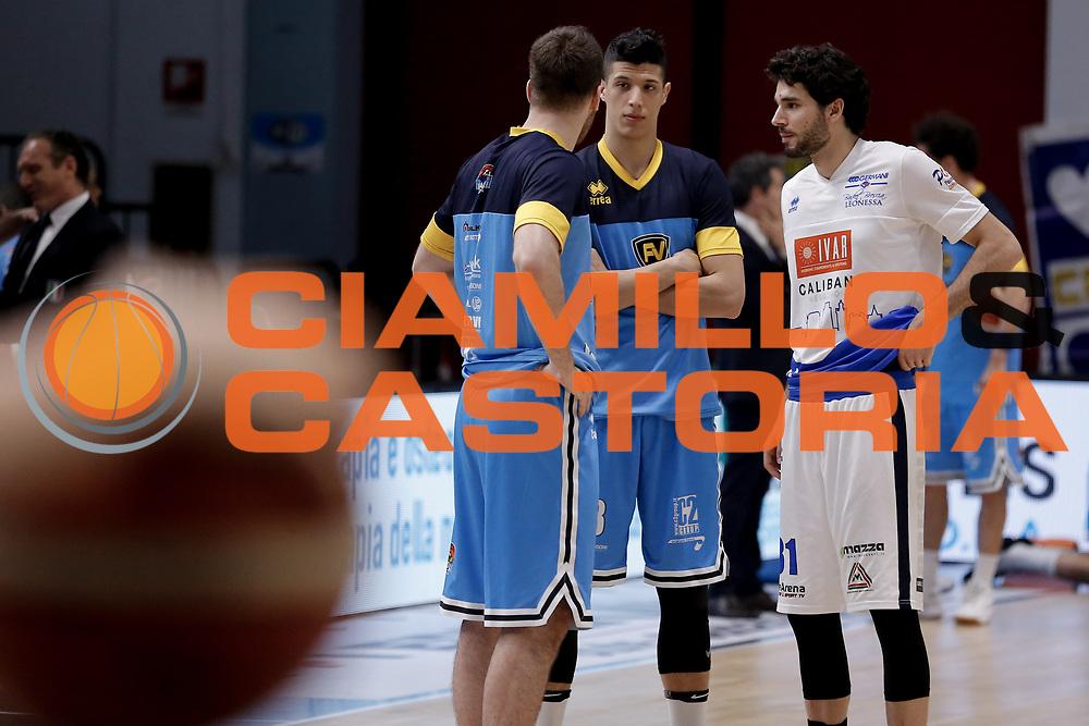 Simone Fontecchio, Vitali Michele<br /> Vanoli Cremona - Germani Basket Brescia<br /> Legabasket Serie A 2017/18<br /> Cremona, 27/04/2018<br /> Foto MarcoBrondi / Ciamillo-Castoria