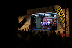 Lotto Soudal presented to the crowds at Giro Rosa 2016 - Team Presentations in San Fior on 30th June 2016.