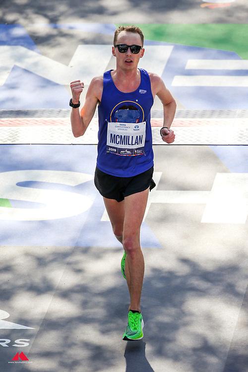 Connor McMillan<br /> TCS New York City Marathon 2019