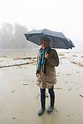 Combers Beach Trail, Pacific Rim National Park, Tofino, Vancouver Island, British Columbia, Canada