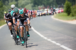 Team Bora - Hansgrohe during Stage 2 of 24th Tour of Slovenia 2017 / Tour de Slovenie from Ljubljana to Ljubljana (169,9 km) cycling race on June 16, 2017 in Slovenia. Photo by Vid Ponikvar / Sportida