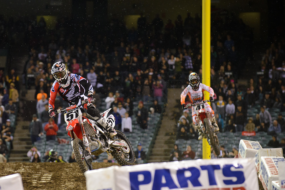 2013 AMA Supercross Series.Anaheim, California..February 2, 2013