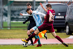 Mark Gulic of ND Gorica during football match between NK Triglav Kranj and ND Gorica in Round #24 of Prva Liga Telekom Slovenije 2017/18, on March 18, 2018 in Sportni park Kranj, Kranj, Slovenia. Photo by Ziga Zupan / Sportida