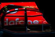 February 20, 2013 - Barcelona Spain. Mclaren Mercedes winglet.