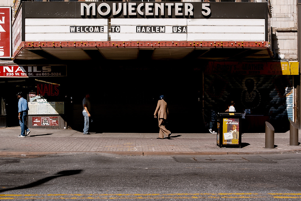 Old Moviecenter 5 125th St. in Harlem. NYC 2008