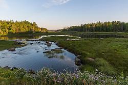 Northeast Creek on Mount Desert Island. Bar Harbor, Maine.