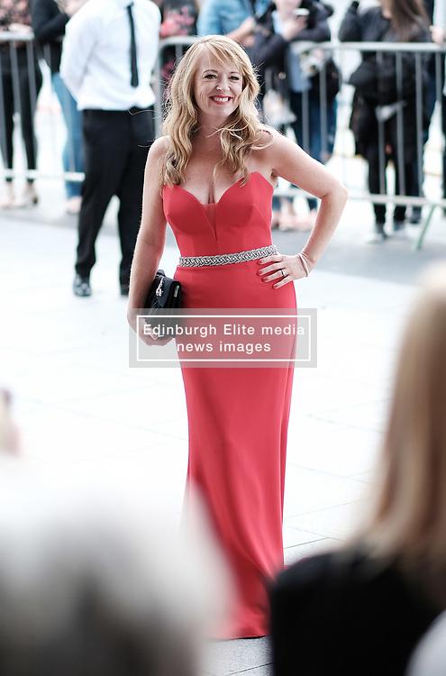 British Soap Awards, Saturday 3rd June 2017<br /> <br /> Stars arrive on the red carpet for the British Soap Awards 2017<br /> <br /> Sally Ann Matthews from Coronation Street arrives<br /> <br /> (c) Alex Todd   Edinburgh Elite media