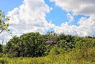 Houses in Santa Lucia, Pinar del Rio, Cuba.