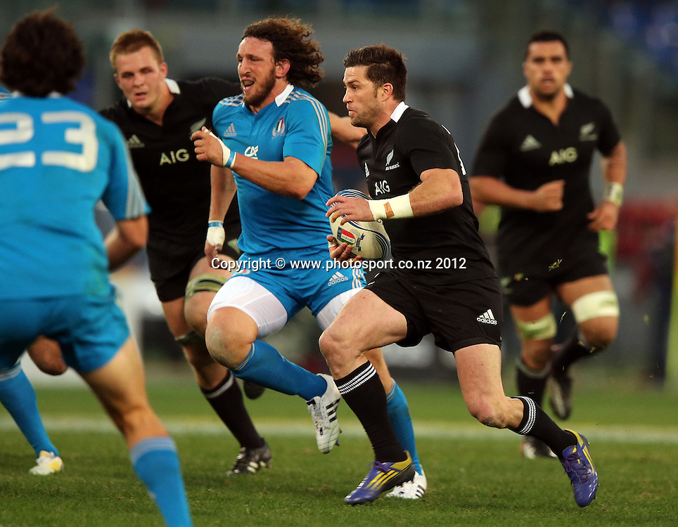 2012 Air New Zealand European Tour 17/11/2012<br /> Italy vs New Zealand<br /> New Zealand's Cory Jane<br /> Mandatory Credit &copy;INPHO/Dan Sheridan