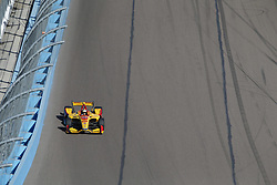 February 9, 2018 - Avondale, Arizona, United States of America - February 09, 2018 - Avondale, Arizona, USA: Ryan Hunter-Reay (28) heads into turn 1 during the Prix View at ISM Raceway in Avondale, Arizona. (Credit Image: © Justin R. Noe Asp Inc/ASP via ZUMA Wire)