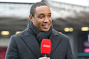 BT Sport football pundit Paul Ince before the The FA Cup 5th round match between Bristol City and Wolverhampton Wanderers at Ashton Gate, Bristol, England on 17 February 2019.