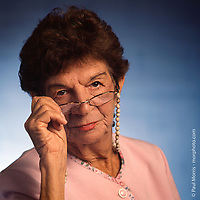 """""""Grandma"""", photographed for The Greater Miami Jewish Federation annual report."""