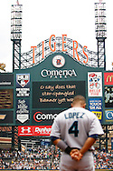 July 23, 2009: 4 Jose Lopez of the Seattle Mariners during the MLB game between Seattle Mariners and Detroit Tigers at Comerica Park, Detroit, Michigan.