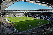 Stadium:mk during the Sky Bet Championship match between Milton Keynes Dons and Derby County at stadium:mk, Milton Keynes, England on 26 September 2015. Photo by David Charbit.
